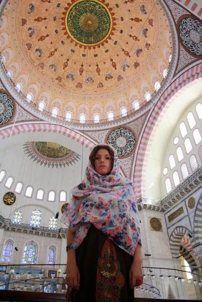 cúpula mezquita nueva estambul