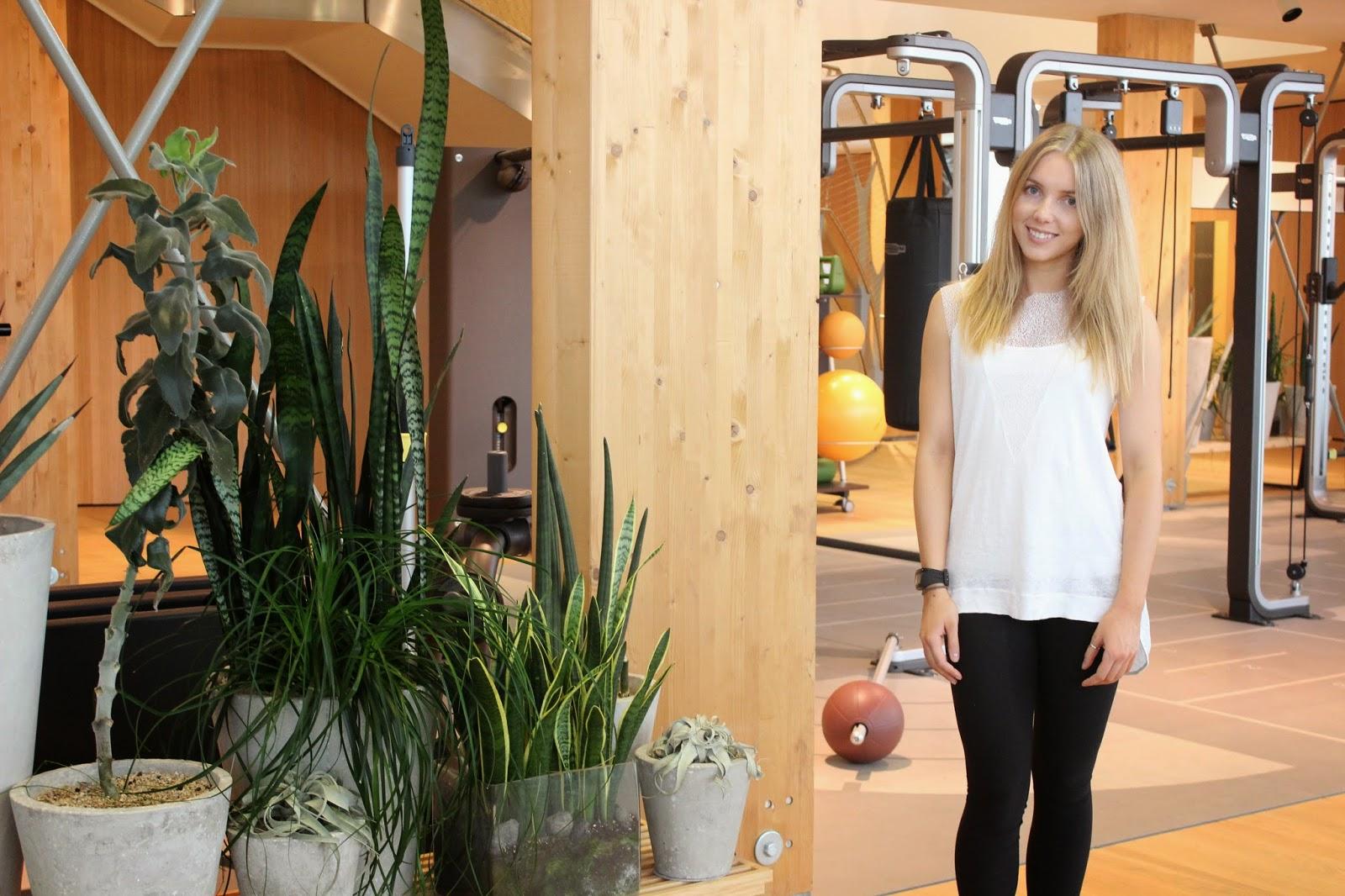 Technogym Wellness Village Gym Showroom Natalie