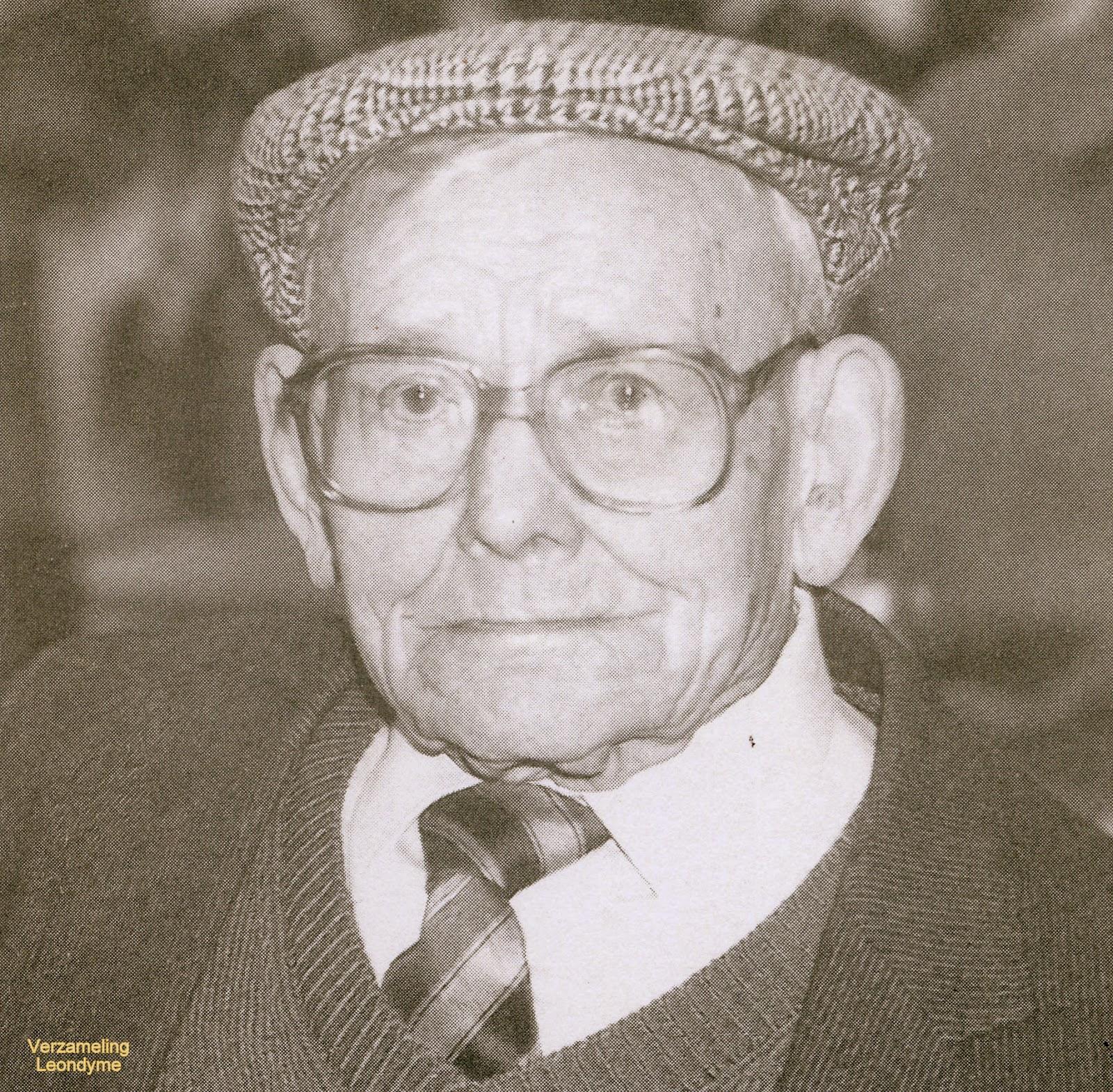 Edmond Demets, civielarbeider Eerste Wereldoorlog. Verzameling Leondyme