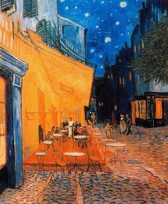 La terrassa del cafè per la nit, Place du Forum, Arles (Vincent Van Gogh)