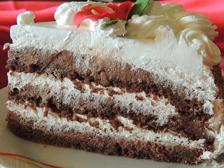 Torta sa pecenim cokoladnim korama