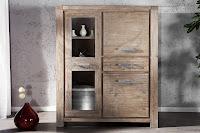 luxusny nabytok z masivu, masivne drevo nabytok, vysoka skrinka z masivu, dizajnovy luxusny nabytok z dreva