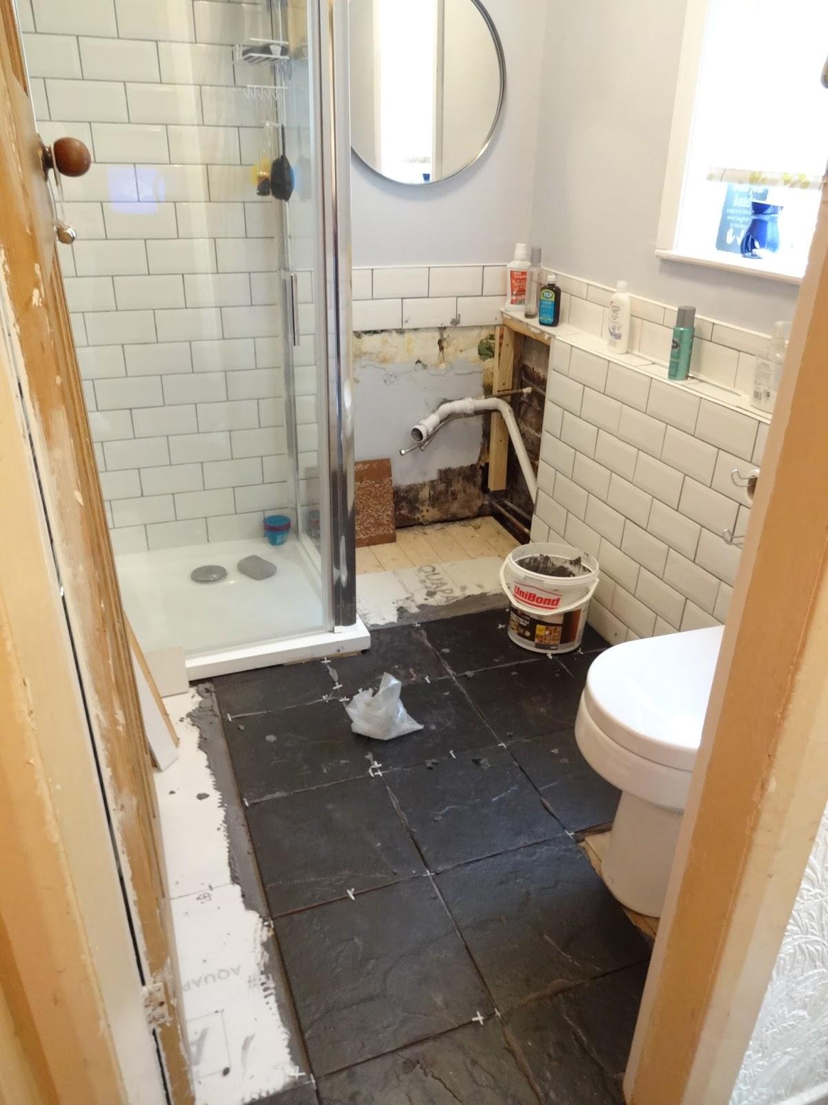 Tiling Floorboards In Bathroom Part 3