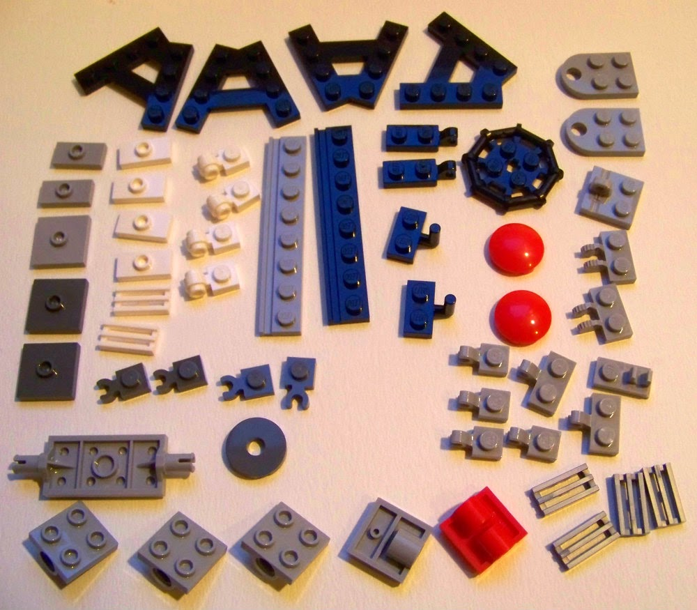 LEGO movie 70809 parts review