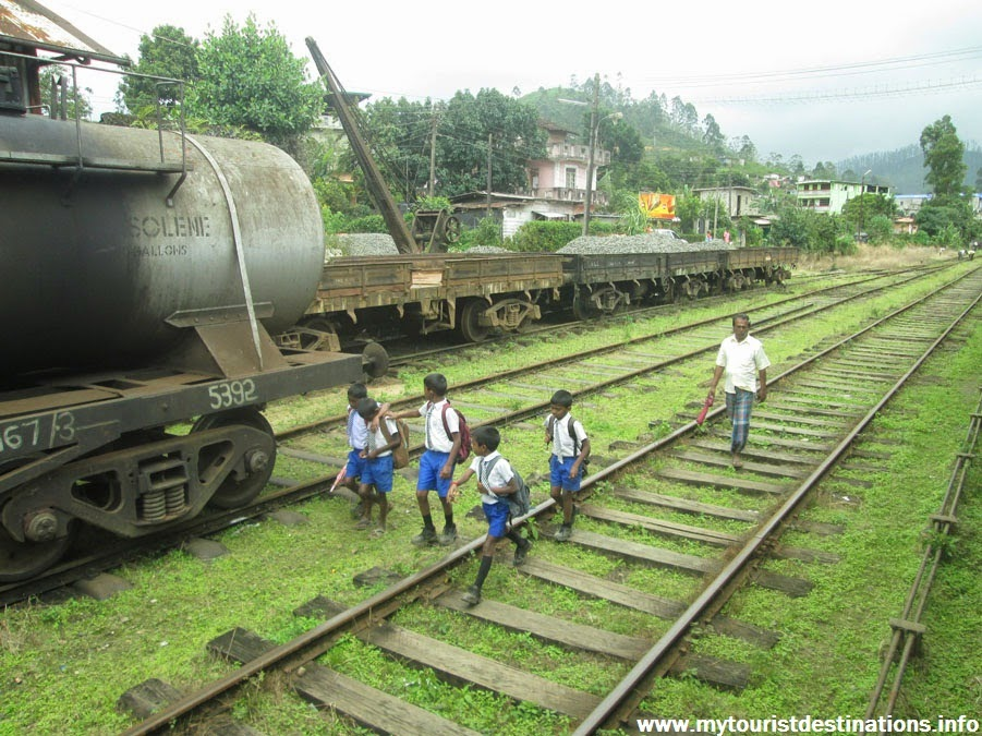 Kandy to Badulla by Train