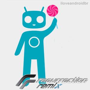 [CM12.1] Rom ResurrectionRemix LP 5.4.0 Android 5.1 para Moto G 2013 - XT1032 e XT1033