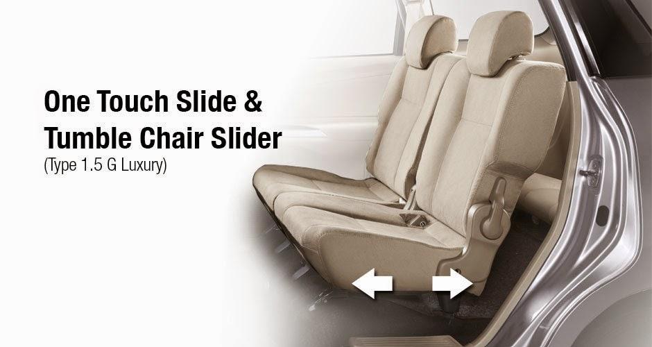 tumble chair slider