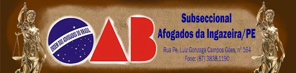 OAB Afogados da Ingazeira/PE