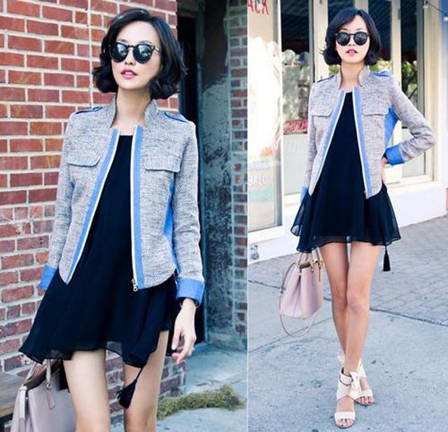 Áo khoác nữ thời trang - item không thể thiếu trong mùa thu đông này