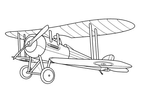 Kids page aeroplane coloring pages printable aeroplane for Plane coloring page