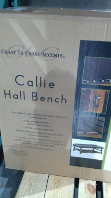 Coast to Coast Accents Callie Hall Bench perfect for any home's decor