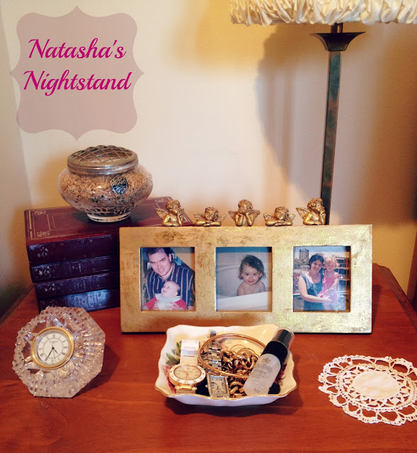 Nightstand, Faffing, bedside table, Natasha in Oz