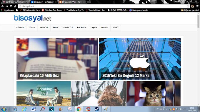 Bisosyal.net 'te Yazarlığa Başladım!