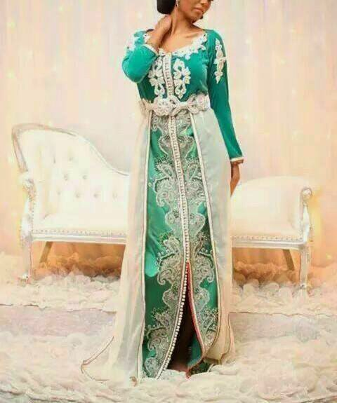 Robe style caftan pas cher