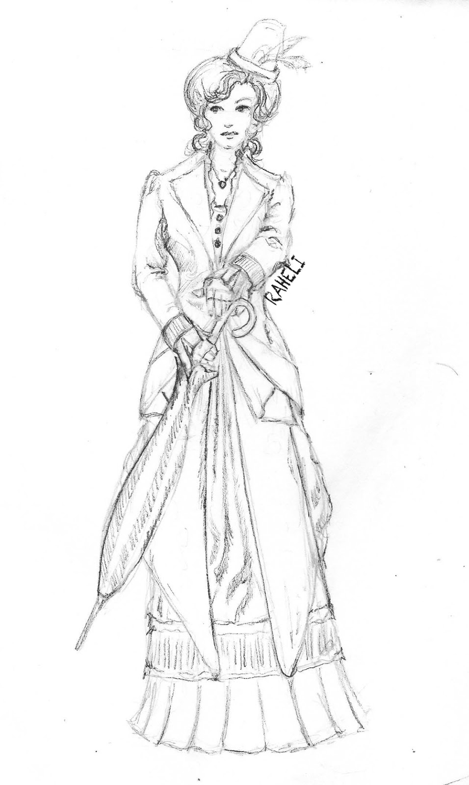 Clothing Design Mannequin Coloring Pages