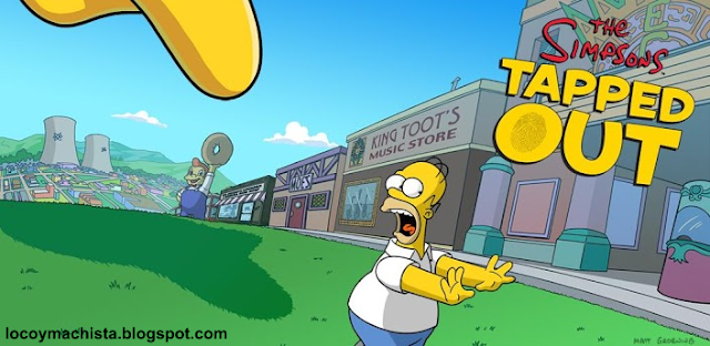 Los Simpsons™: Tapped Out v4.9.2 (Mod Old Items, Rosquillas, Dinero