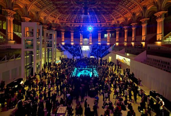 Inauguración de la feria de los eventos EIBTM en Barcelona