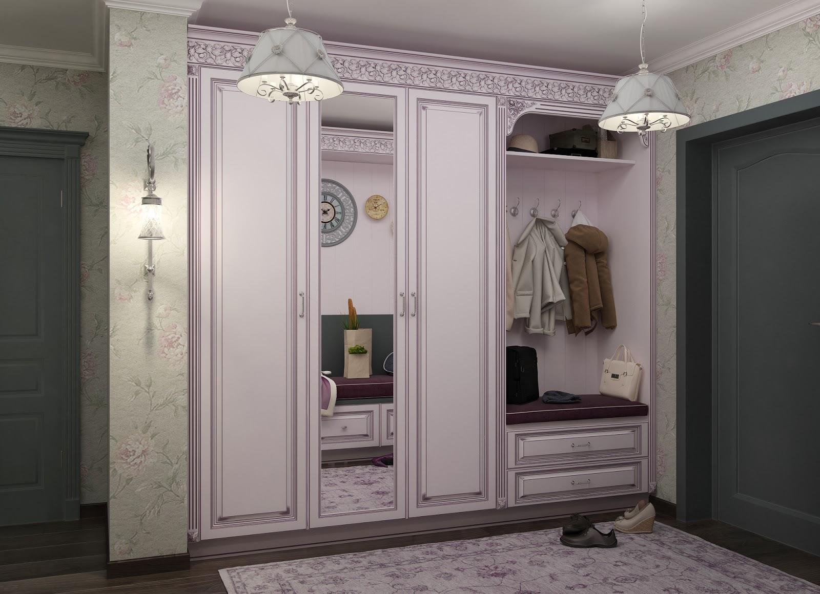 """Мебельная фабрика """"ладос-мебель"""", г. москва / розовый шкаф в."""