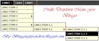 add multi drop down menu