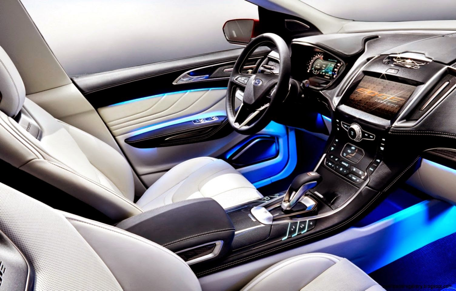2015 ford edge sport interior wallpapers gallery. Black Bedroom Furniture Sets. Home Design Ideas