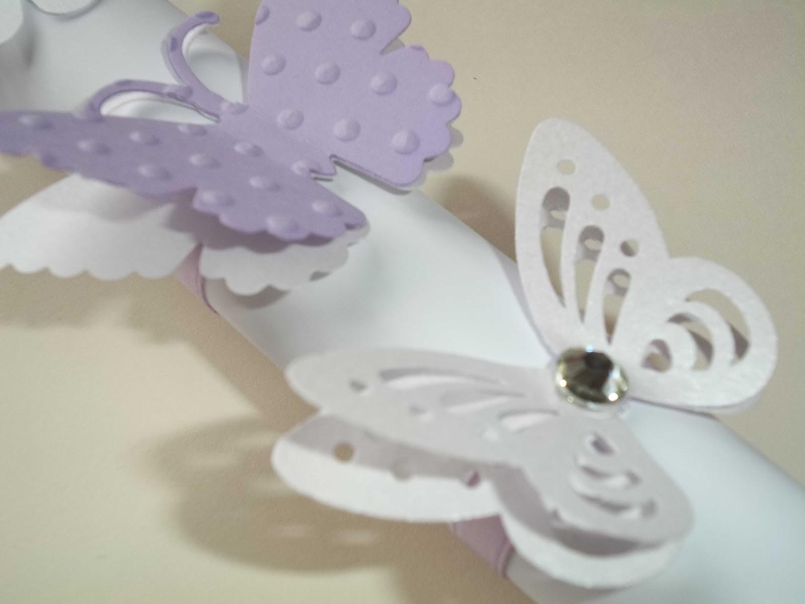 Matrimonio Tema Farfalle : Sara crea legatovagliolo per matrimonio con segnaposto o