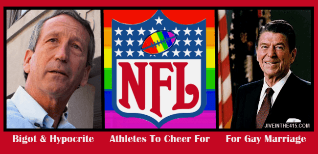 NFL's logo, Mark Sanford and Ronald Reagan
