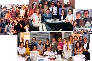 Imágenes de la serie 'Periodistas', 1998-2002, reparto, actores