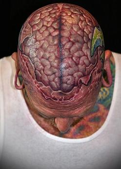 Tattoo art: Anatomy tattoos