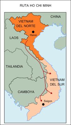Historia Desterrada: La ruta Ho Chi Minh: eje logístico