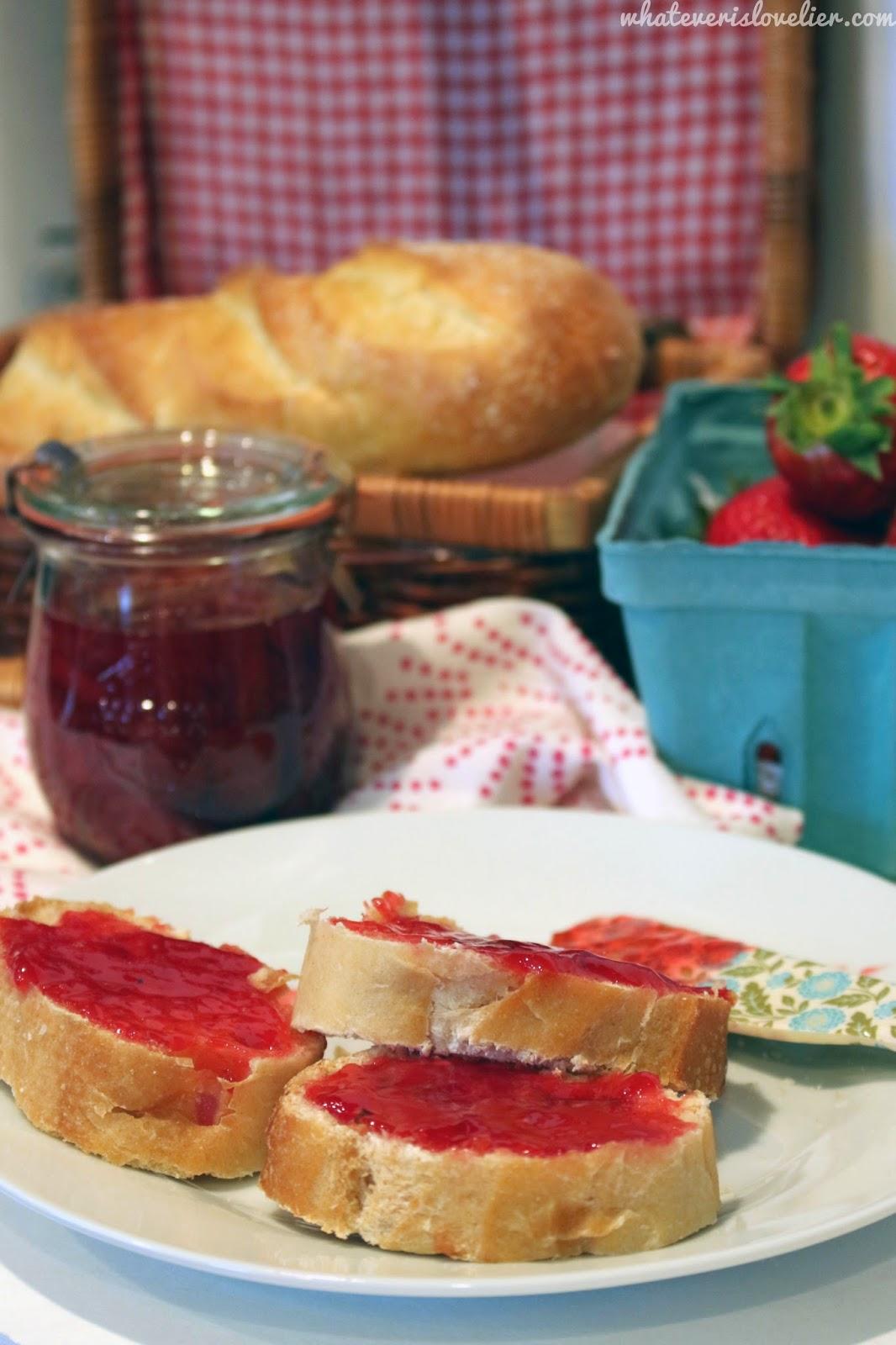 Recipe: Strawberry Basil Jam
