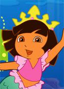 Даша. Приключение русалочки - Онлайн игра для девочек