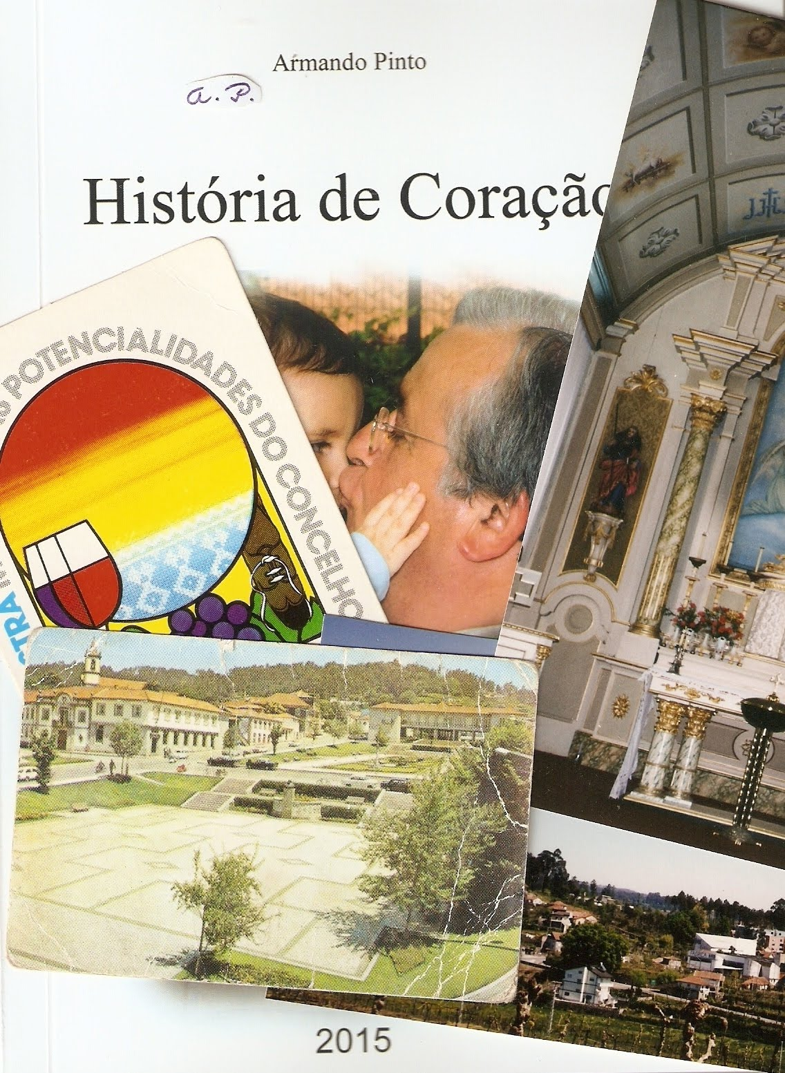 """Livro """"História de Coração"""""""