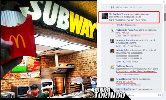 Trollagem no Subway
