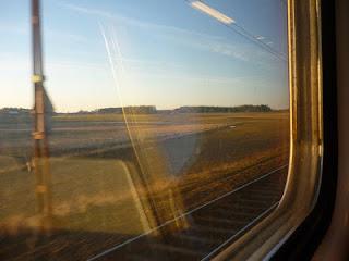 paisaje desde ventana