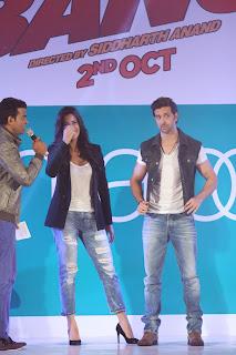 Hrithik Roshan & Katrina Kaif launch the Pantaloon