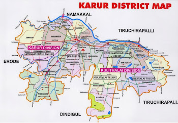 KARUR DISTRICT MAP