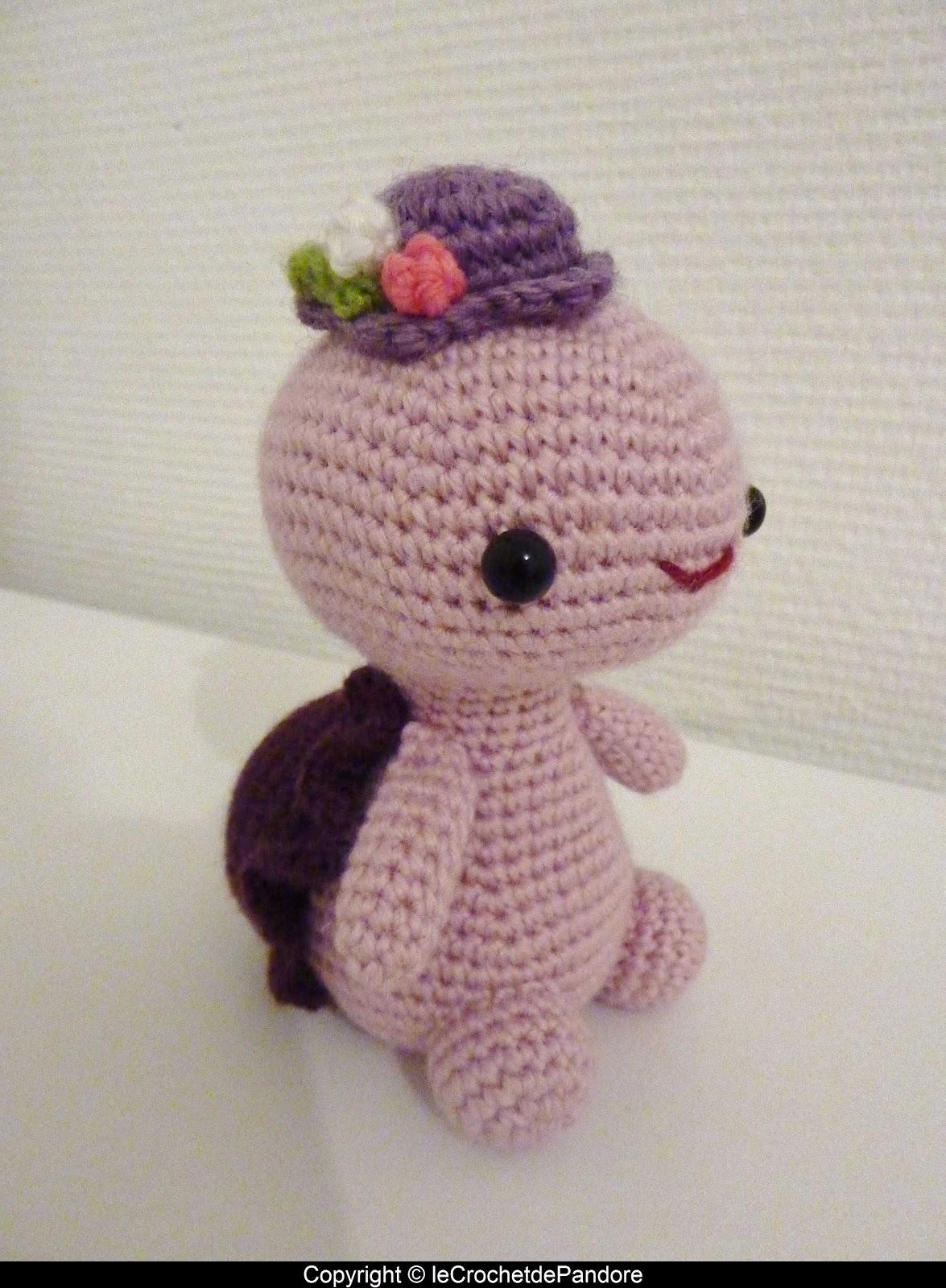 le Crochet de Pandore: Miss Turtle et Mister Angel