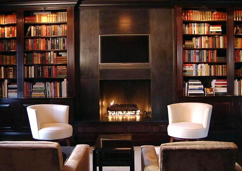 Cococozy see this house 8 million buys two styles in for Modern home library