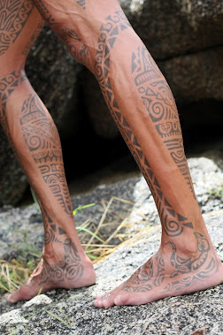 legs tattoo by tiki tattoo thailand