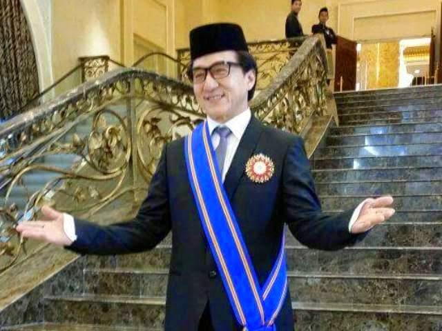 Jackie Chan Kini Bergelar Datuk, info, terkini, hiburan, sensasi, berita, Jakie Chan