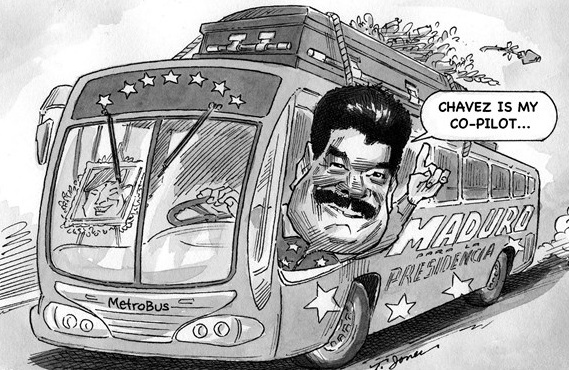 chavez political cartoon,maduro cartoon,political cartoon