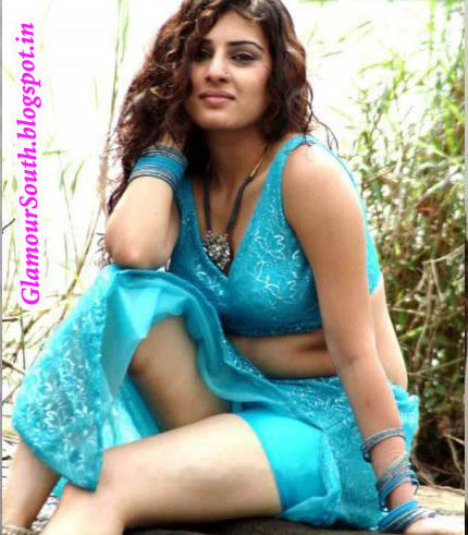 glamoursouth blogspot in veda archana sastry in blue and