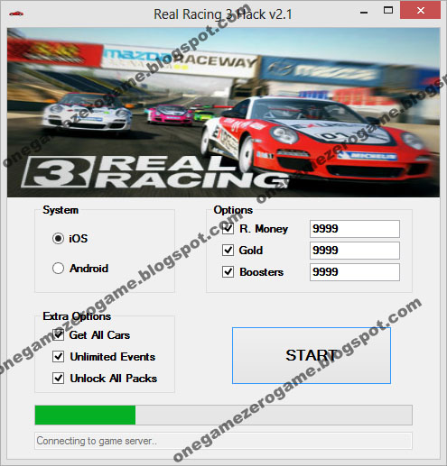 Real Racing 3 Hack v2.2 [iOS] [Android]