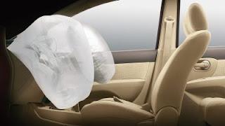 Dual SRS Airbags - Nissan mobil terbaik