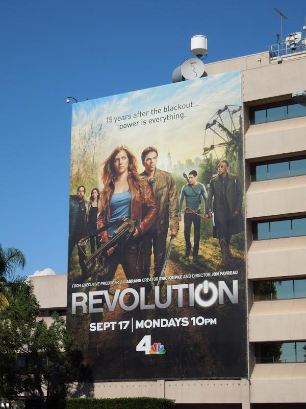 Giant Revolution billboard NBC Studios