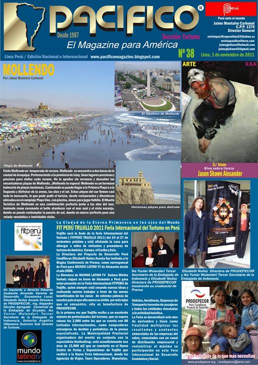 Revista Pacífico Nº 38 Turismo