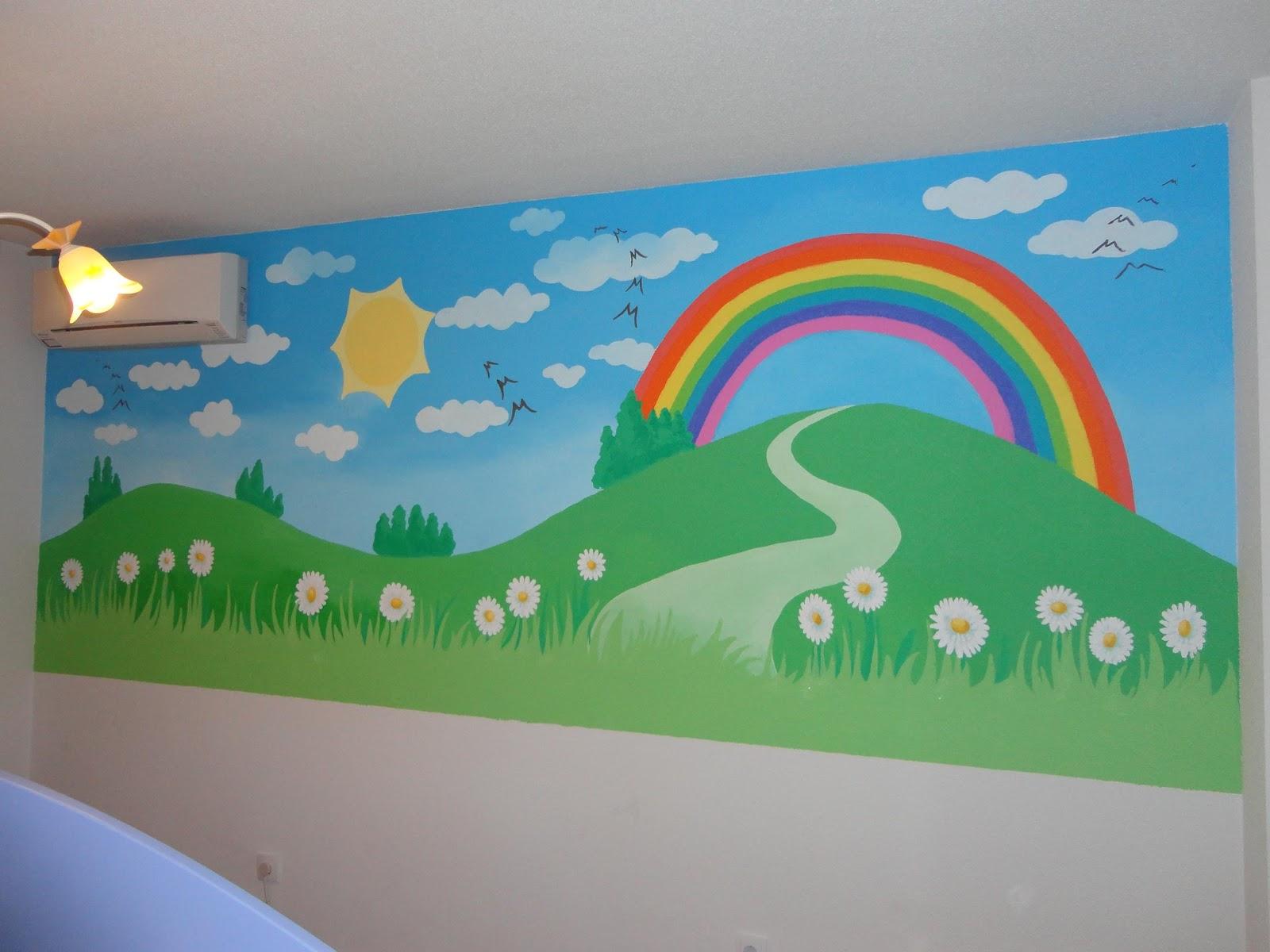Decopared murales pintados en paredes lisas o gotele - Murales pintados en pared ...
