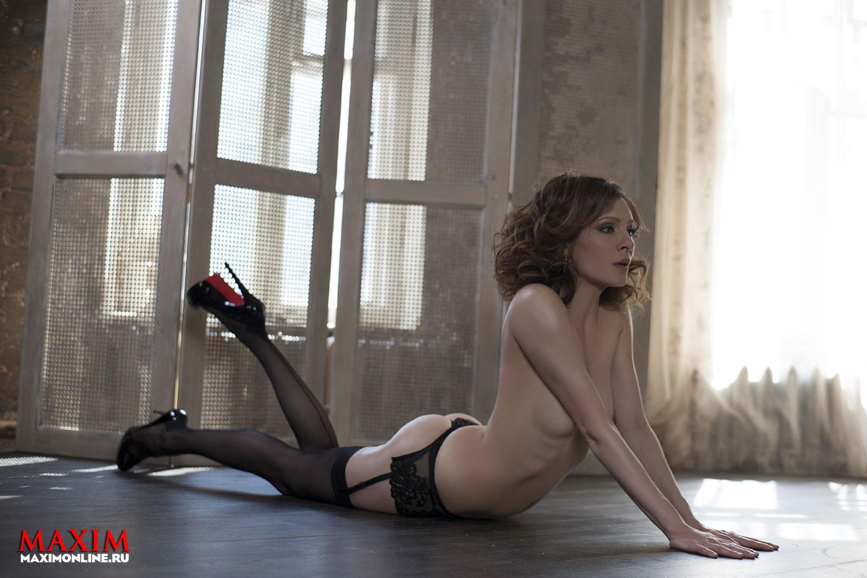 Эксклюзвно голая Анна Горшкова  Блог о сиськах