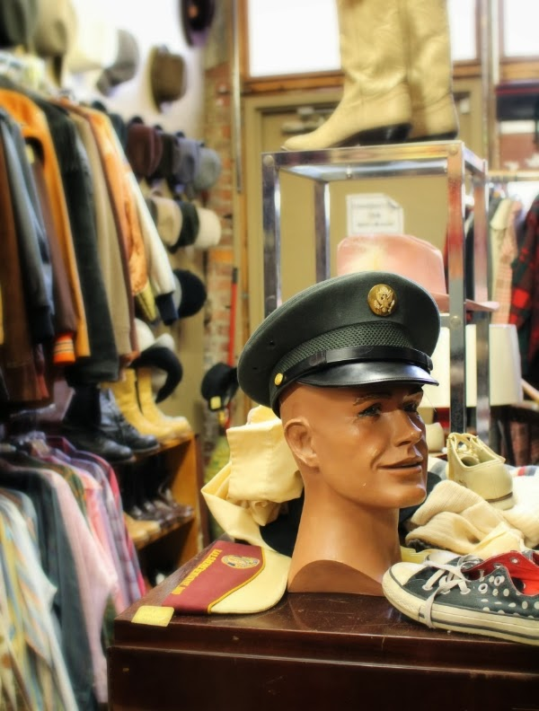 Vintage Menswear Shop Display #vintage #shop #mens #fashion