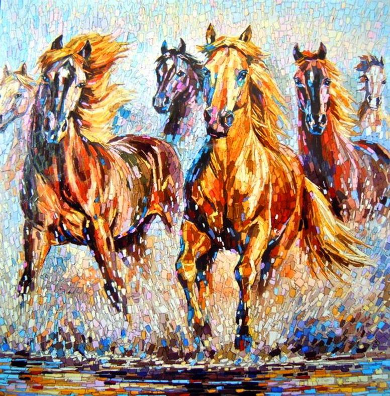 Cuadros modernos pinturas y dibujos oleos modernos y - Los cuadros mas bonitos ...